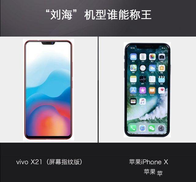 vivoX21和iPhoneX哪个好
