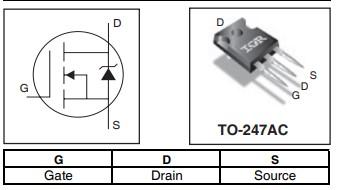 IRFP4227PBF功率晶体管的特性及应用