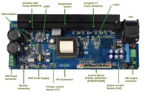 大联大友尚集团推出基于ST产品的全桥谐振数字电源...
