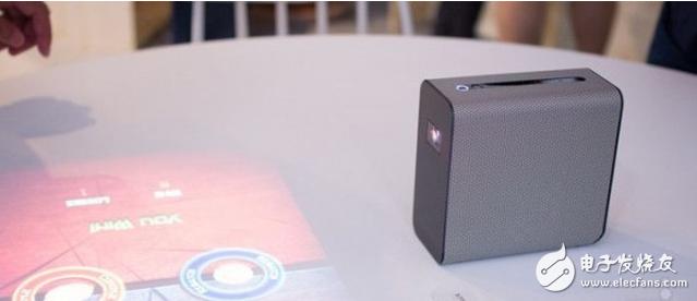 索尼展示概念可触控投影仪技术