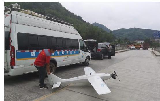 无人机如何在灾区救人