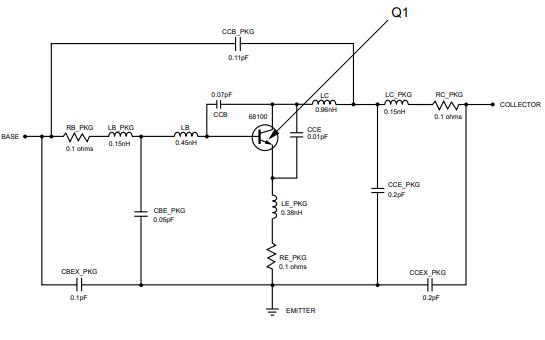 NE555电源IC的NE68035非线性模型数据手册免费下载