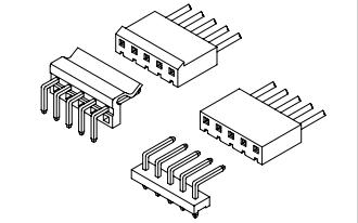 A5081系列5.08mm节距线对板连接器的数据手册免费下载