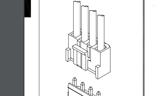 A5001系列5.00 mm节距线对板连接器的数据手册免费下载