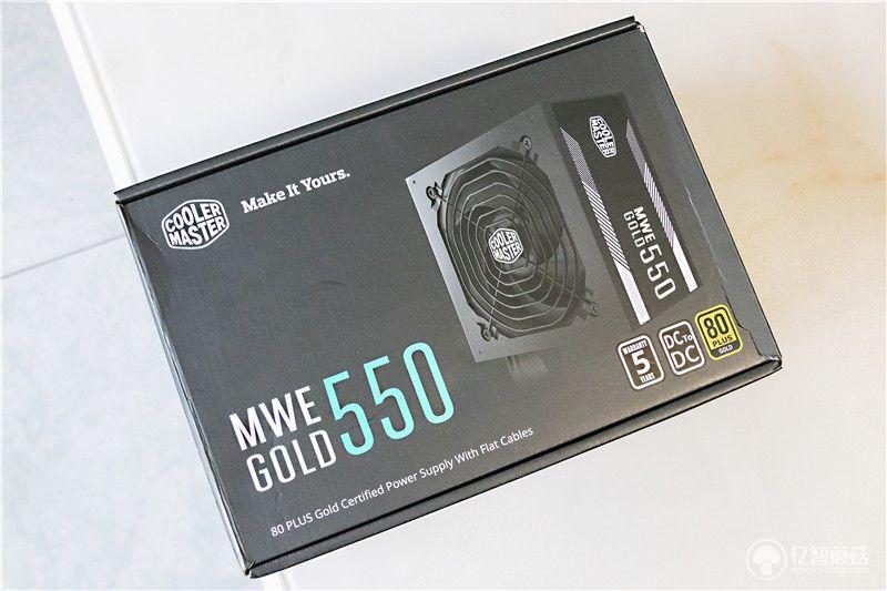 酷冷至尊MWEGOLD550体验 静音表现非常出色