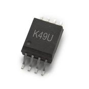 ACPL-K49U-000E 宽工作温度R²Coupler™20kBd数字光电耦合器可配置为低功耗,低漏电光电晶体管