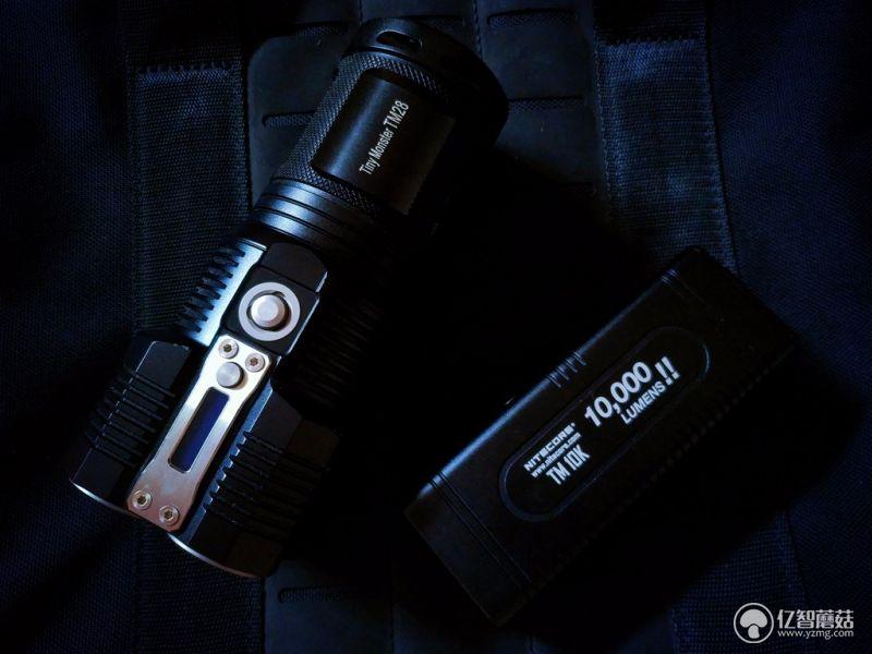 奈特科尔TM10K测评 非常规的设计和制作工艺