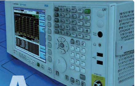 N9030A PXA X系列信号分析仪使用说明书