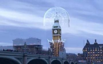 Snapchat用AR技术还原了伦敦大本钟