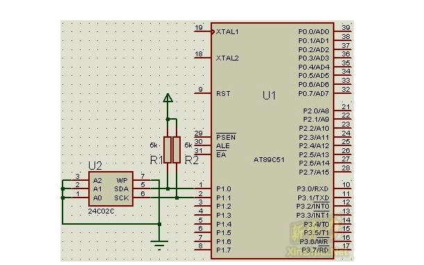 使用51单片机进行I2C程序的详细资料说明