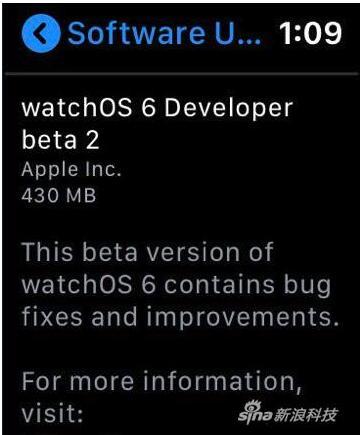 苹果最新的watchOS已经支持手表独立OTA无线升级