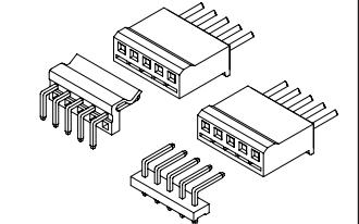 A5082系列5.08mm节距线对板连接器的数据手册免费下载