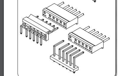A7501系列7.50-5.00 mm节距线对板连接器的数据手册免费下载
