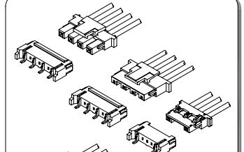 A4001系列4.00 mm节距线对板和线对线连接器的数据手册免费下载