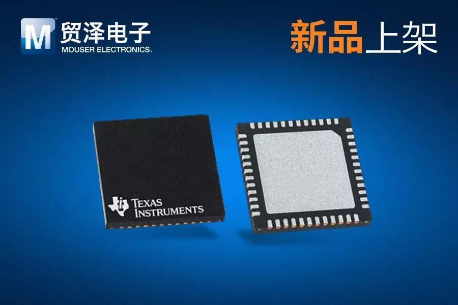 贸泽推出配备BAW谐振器的Texas Instruments 超低抖动LMK05318时钟