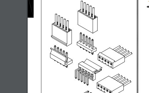 A3961系列3.96mm节距线对板连接器的数据手册免费下载