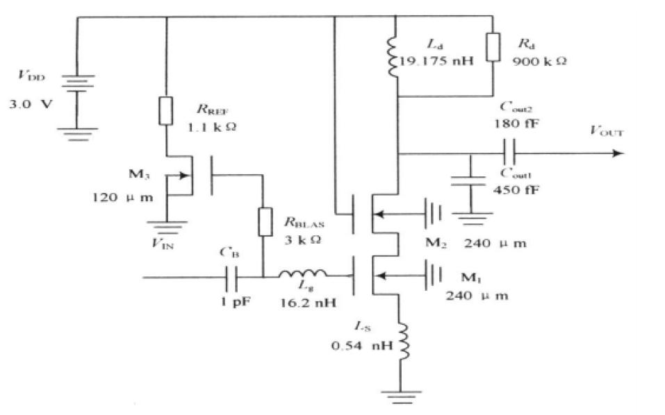 使用Cadence設計COMS低噪聲放大器的詳細資料說明