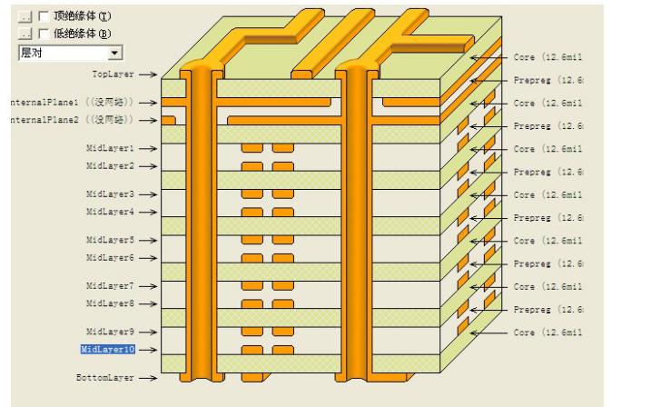 多层板设计protel99se添加层体管理器菜单的方法资料免费下载