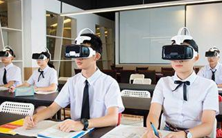 關于VR教育的(de)市xie)chang)分析