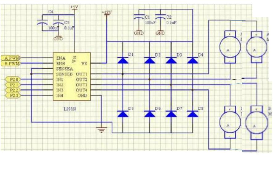 树莓派的电机驱动原理详细资料说明