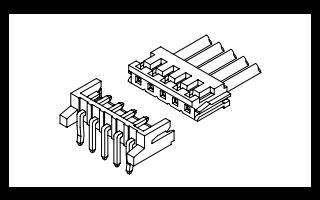 A2502系列2.50毫米节距线对板连接器的数据手册免费下载