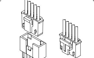 A2512系列2.50毫米节距线对板或线对线连接器的数据手册免费下载