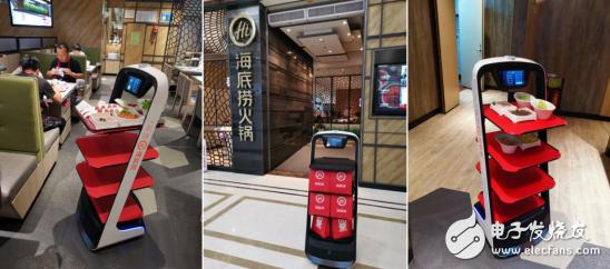 送餐机器人解决了餐饮业人力成本的问题