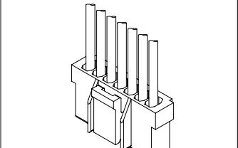 A2509系列2.50毫米节距线对板连接器的数据手册免费下载的