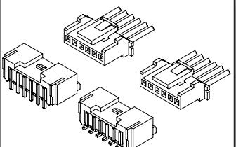 A2012系列2.00 mm节距线对板连接器的数据手册免费下载