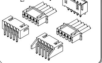 A2501系列2.50毫米节距线对板和线对线连接器的数据手册免费下载