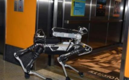 外觀獨特的新型機器人亮相