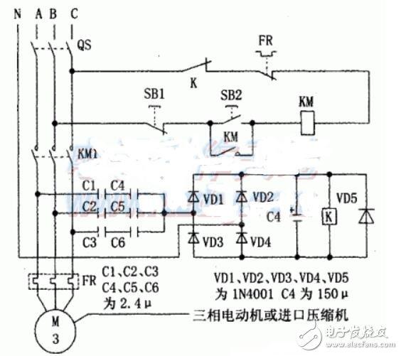 相序保护器工作原理_相序保护器电路原理图