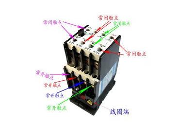 220v和380v交流接觸器接線圖解