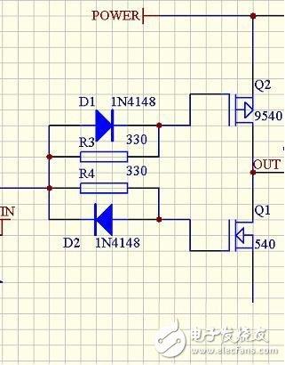 两个mos管桥式电路图
