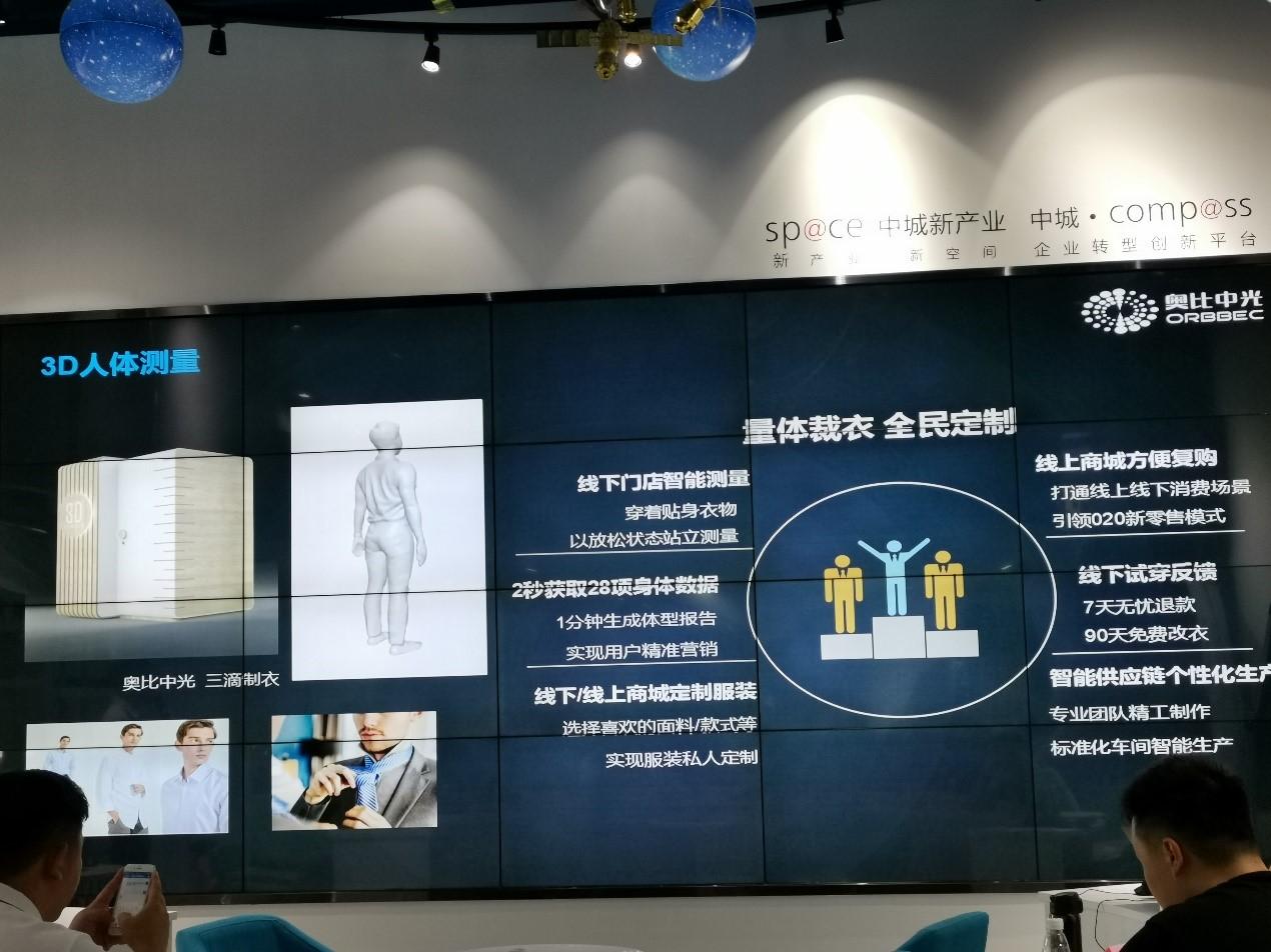 奧比中光3D人體測量解決方案