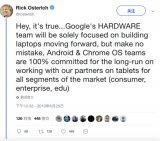 谷歌痛斩平板电脑业务 两款产品胎死腹中