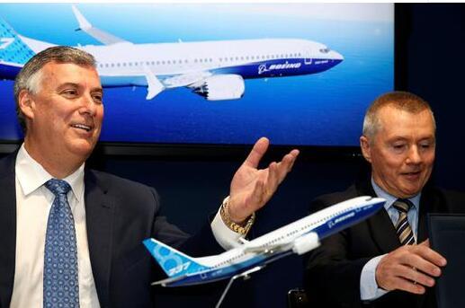 IAG与波音正式签订了购买200架737 MAX飞机的意向协议