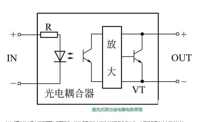 直流和交流固态继电器电路原理图