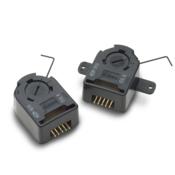 AEDM-5XXX 高分辨率3通道外壳编码器模块套件,带有卡入式盖板