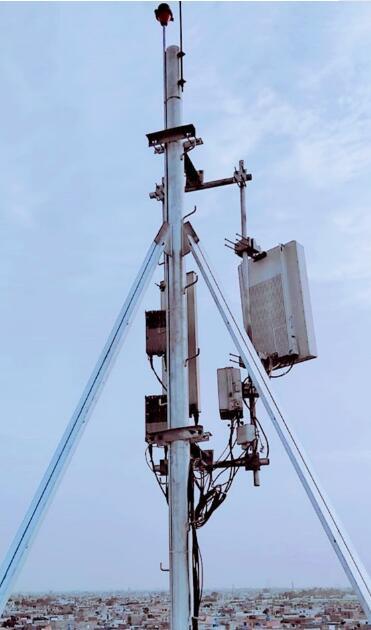 中国移动辛姆巴科公司联合华为成功开启了首个FDD双频Massive MIMO站点