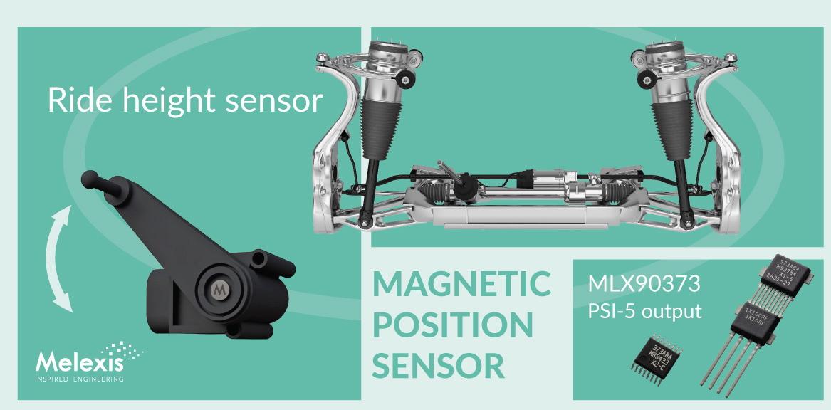 Melexis推出Triaxis霍爾位置傳感器系列新產品——MLX90373