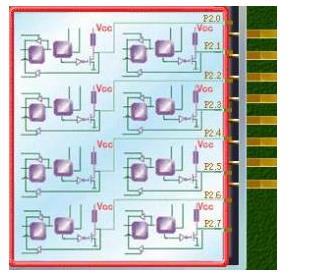 51单片机P2口的结构及功能应用解析