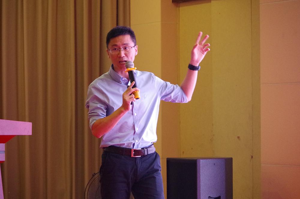 瑞斯康達科技發展股份有限公司技術總監官尚明