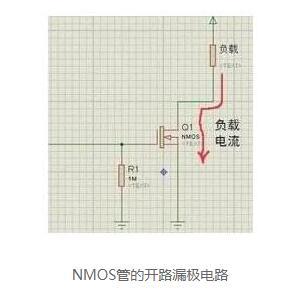 小电流mos管发热分析