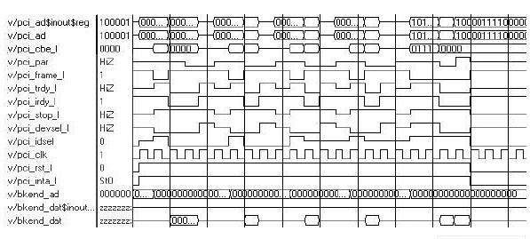 PCI總線從設備控制器的設計思路及驗證結果分析