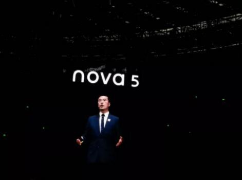 华为nova 5的发布担当起了顶起华为手机半边天的重担