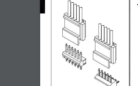 A2504系列2.50毫米节距线对板连接器的数据手册免费下载的