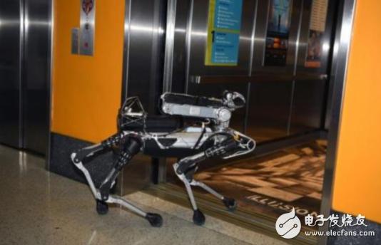 外观独特的新型机器人亮相