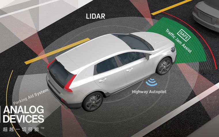 ADI和First Sensor合作开发LIDAR产品加快实现自动驾驶未来