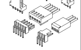 A2543系列2.54mm节距线对板连接器的数据手册免费下载